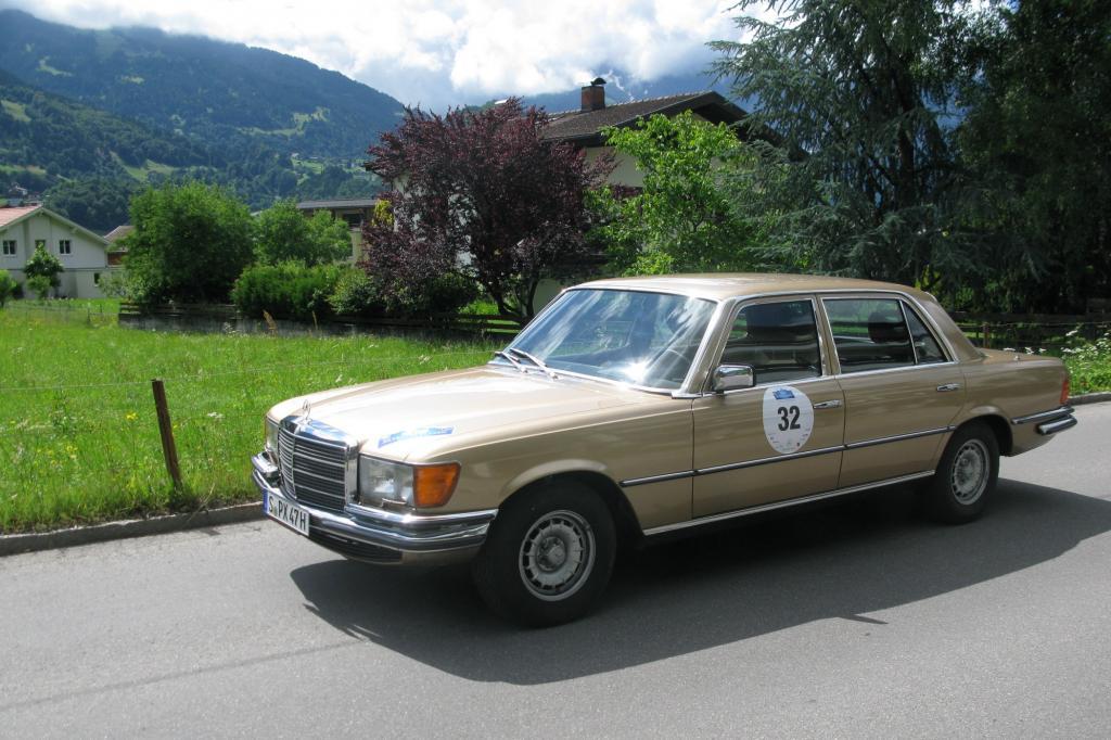 Mercedes 450 SEL 6,9 - Alter schützt vor Premium nicht