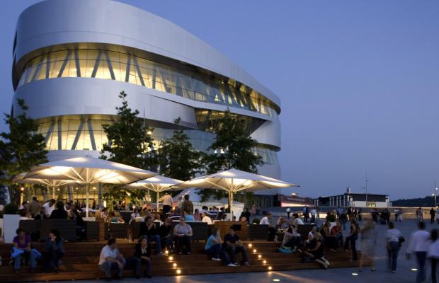 Mercedes-Benz Museum veranstaltet 7. Open Air Kino