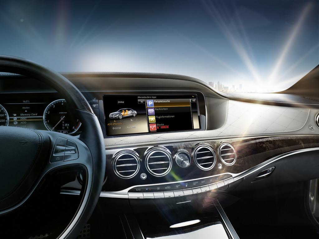 Mercedes-Benz bietet Zubehör für die S-Klasse