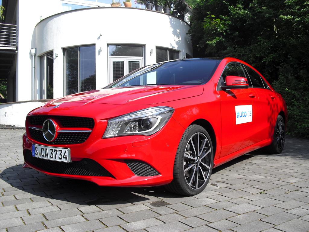 Mercedes CLA, hier als stärkerer Diesel mit 125/170 kW/PS.