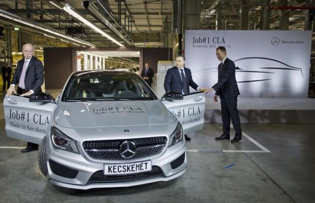 Mercedes erwägt Produktion des CLA ab 2018 in Mexiko