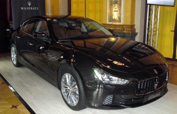Mit Ghibli steigt Maserati ins Segment der Businesslimousinen ein / Sogar Diesel