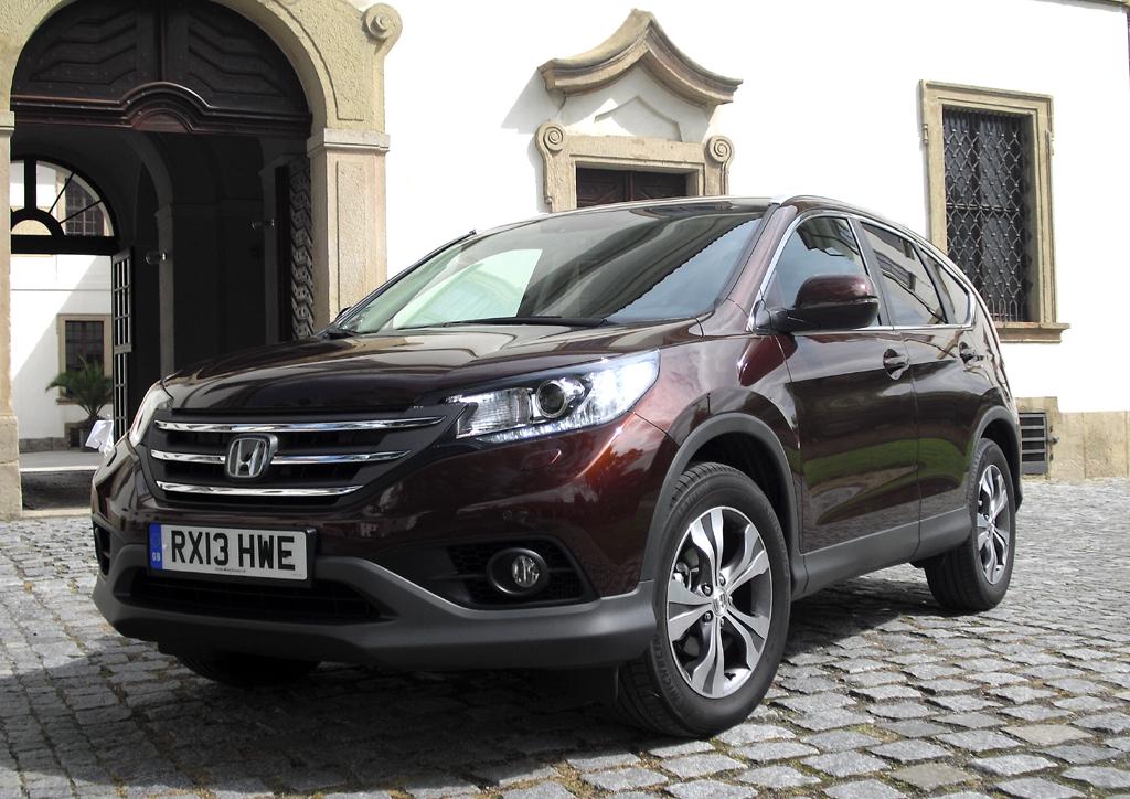 Mit neuem 88/120 kW/PS starkem Turbodiesel: Honda CR-V.