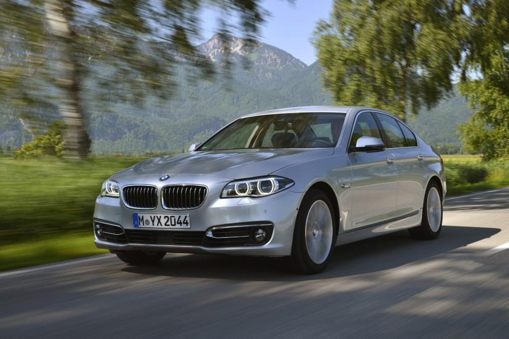Modellgepflegter BMW 5er vor dem Marktstart