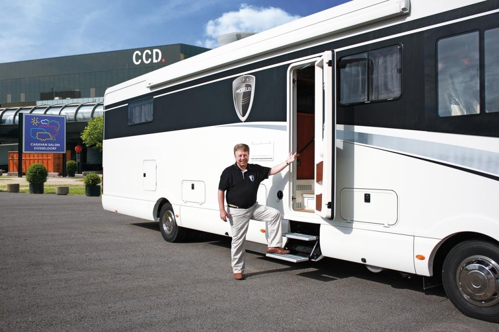 Morelo bietet Probefahrten mit neuen Reisemobilen