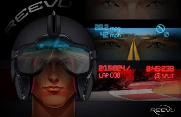 Motorradhelm mit Head-up-Display - Alles im Blick