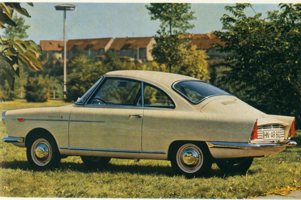 NSU Sport Prinz ab 1959 Design Vorbild Wankel Spider
