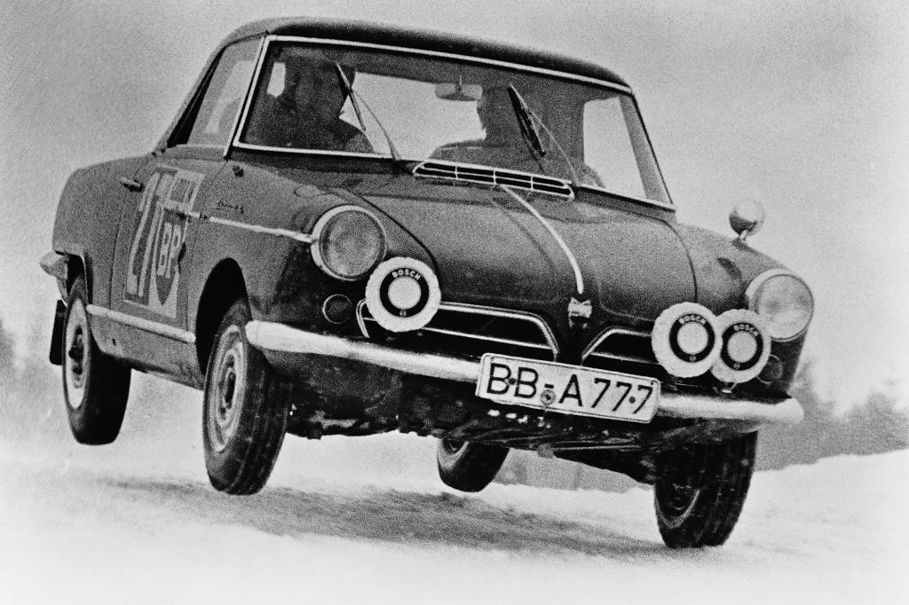 NSU Wankel Spider Motorsporteinsatz 1967