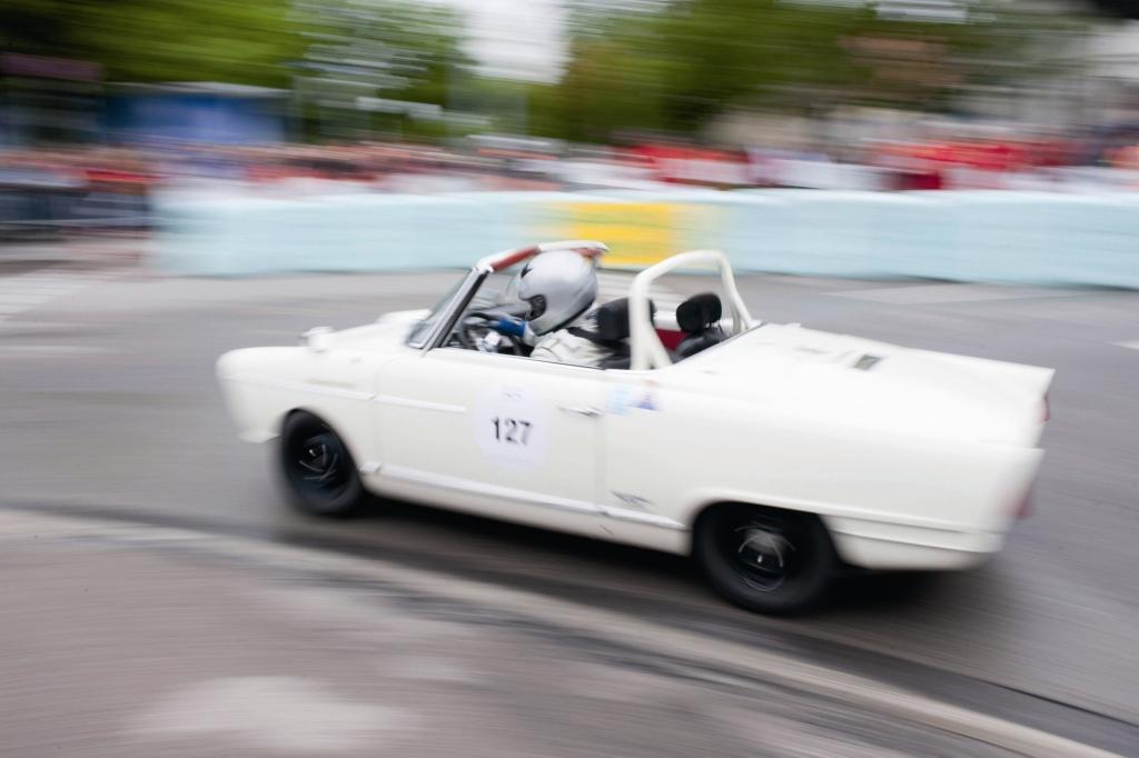 NSU Wankel Spider bei Klassiker Rallye