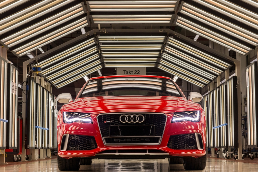 Neckarsulm: Heimat der großen und der schnellen Audi-Modelle