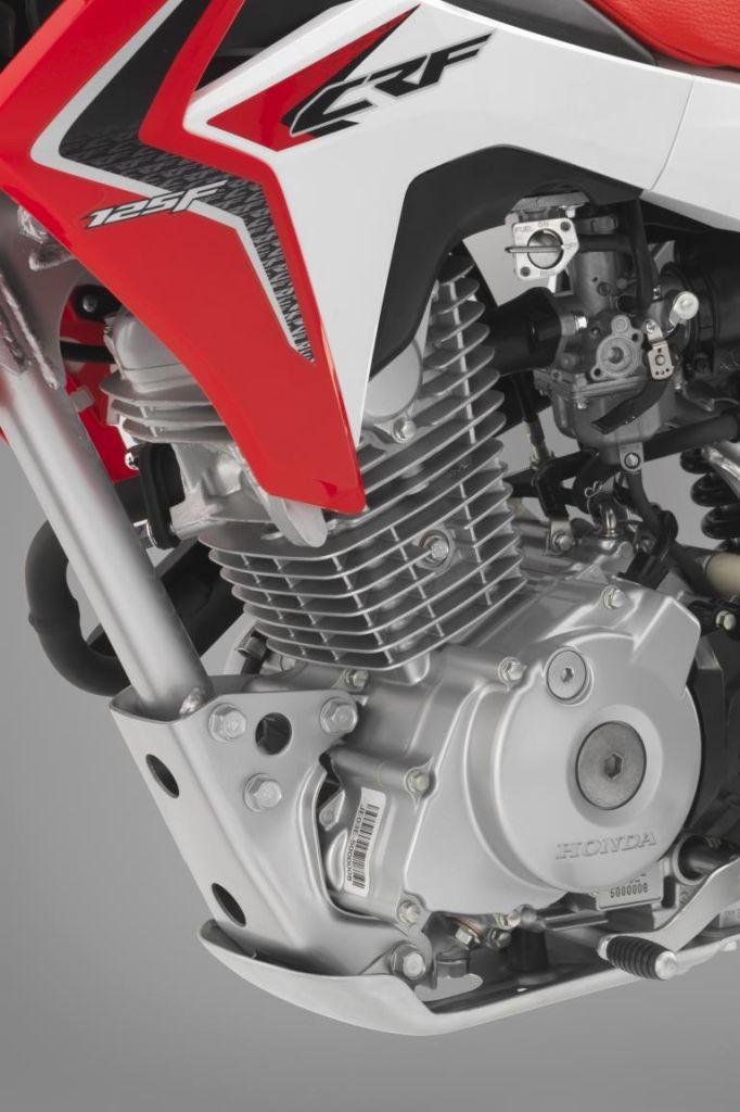 Neues Honda-Geländemotorrad CRF125F: Früh übt sich