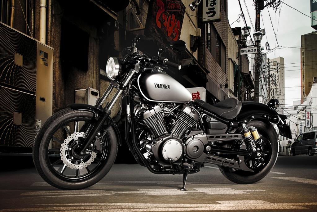 Neues Naked-Bike Yamaha XV950 ab Oktober