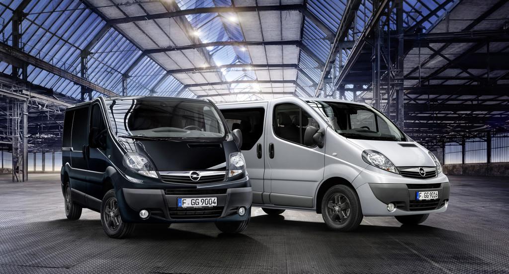 Opel Vivaro jetzt als Color Edition
