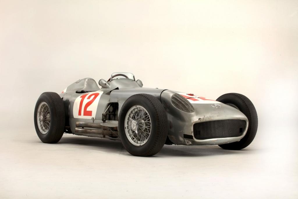 Platz 1: Mercedes W 196 Silberpfeil aus dem Jahr 1954, Auktionspreis 29,7 Millionen Dollar