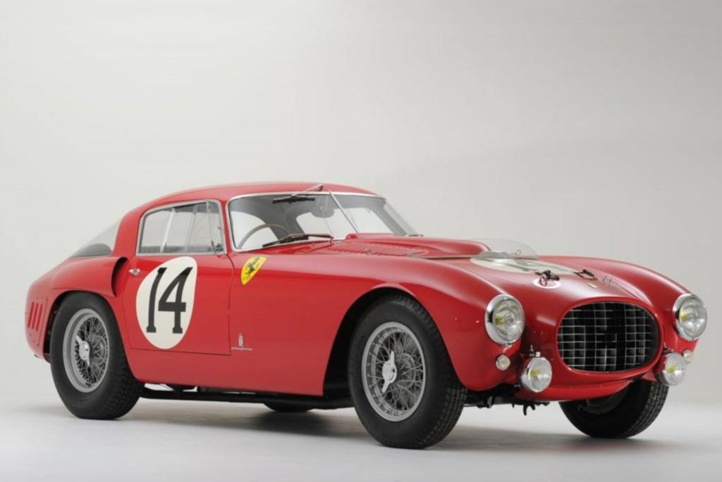 Platz 3: Ferrari 340/375MM Competizione aus dem Jahr 1953, Auktionspreis 12,8 Mio Dollar