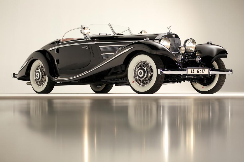 Platz 5: Mercedes-Benz 540K Spezial Roadster aus dem Jahr 1936, Auktionspreis 1,8 Mio Dollar