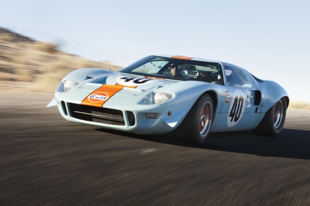 Platz 7: Ford GT40 Gulf / Mirage aus dem Jahr 1968, Auktionspreis 11 Mio Dollar