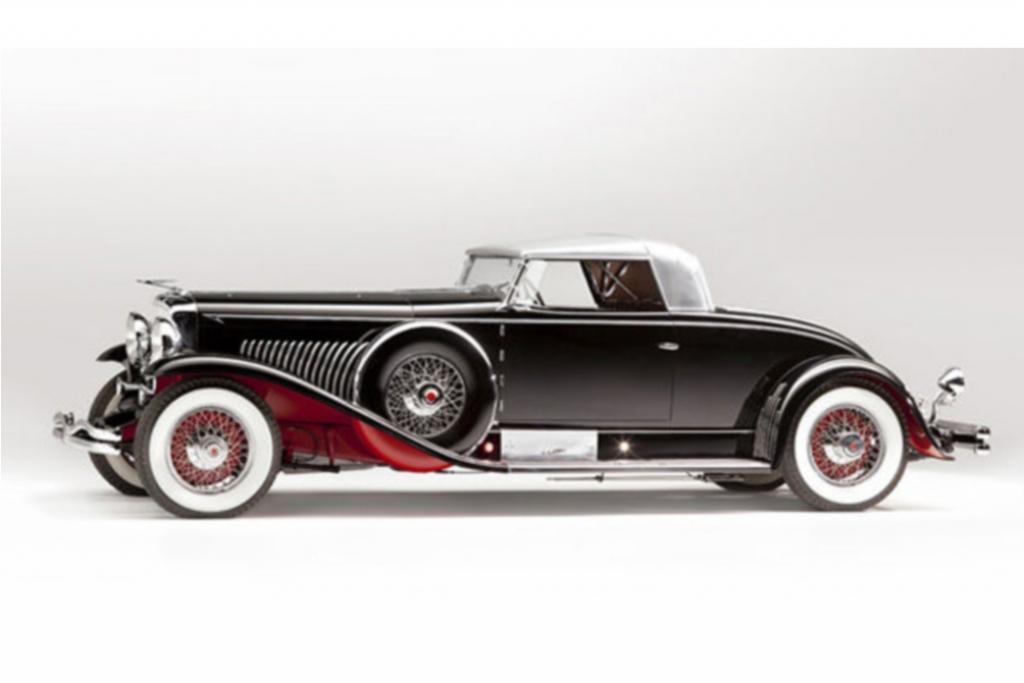 Platz 9: Duesenberg Model J Coupé aus dem Jahr 1931, Auktionspreis 10,3 Mio Dollar