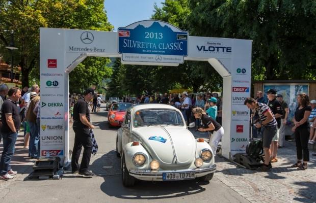 Pokal-Parade auf der Silvretta Classic