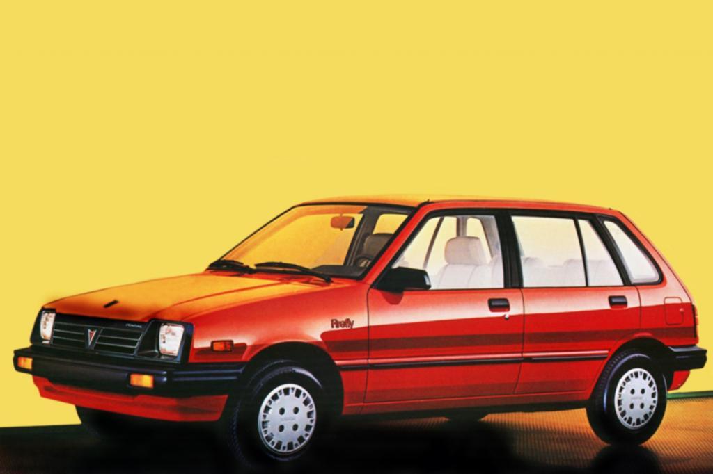 Pontiac Firefly Schwestermodell des Swift 1985