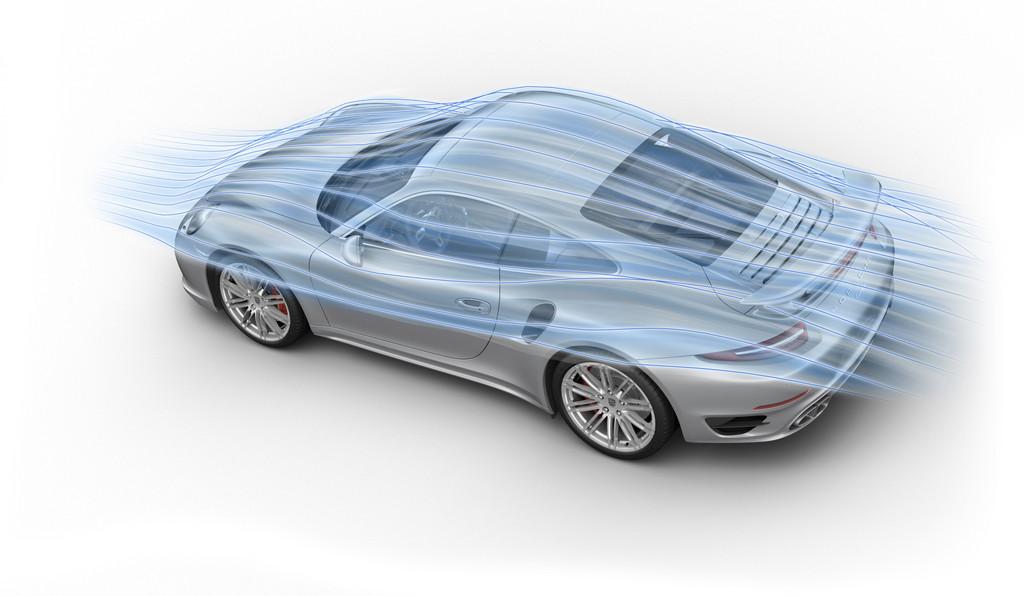 Porsche-Aerodynamik: Balance zwischen Auf- und Abtrieb