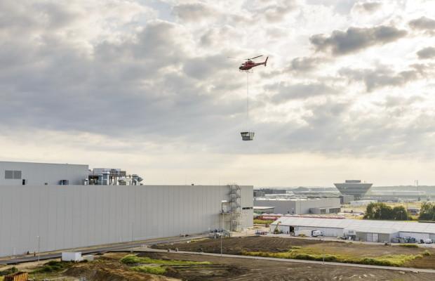 Porsche stellt Lackiererei in Leipzig fertig