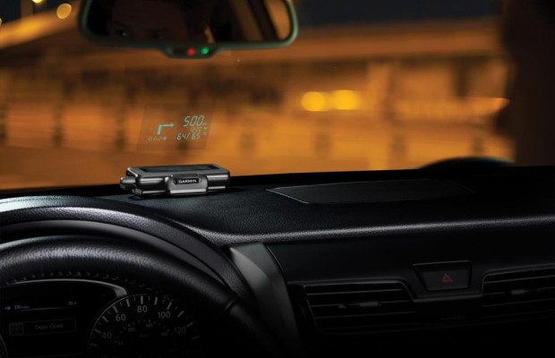 Portables Head-up-Display - Projektor für die Handy-Navigation