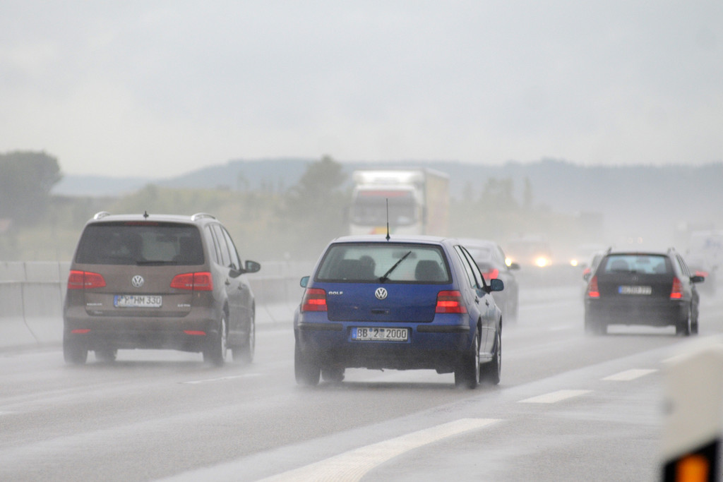 Ratgeber: Auf nasses Wetter besonnen reagieren