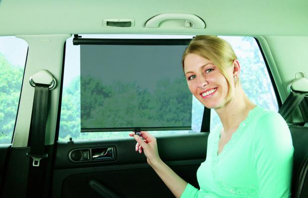 Ratgeber: Tönung und Rollo gegen Hitze im Auto
