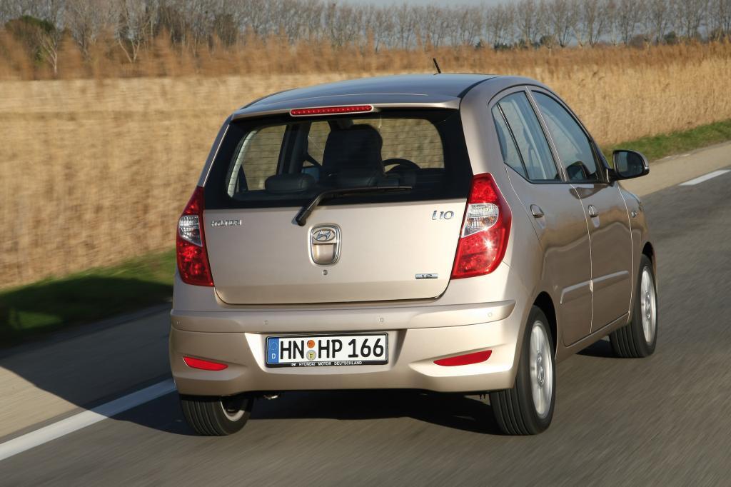 Rund 29.000 Kilometer läuft der Hyundai i10 in den ersten drei Jahren nur – deutlich weniger als der Durchschnitt mit 47.000 Kilometern