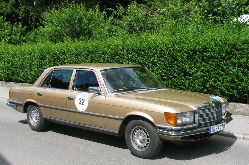 Rund 473.200 Exemplare der Baureihe W116 wurden von 1972 bis 1980 insgesamt verkauft