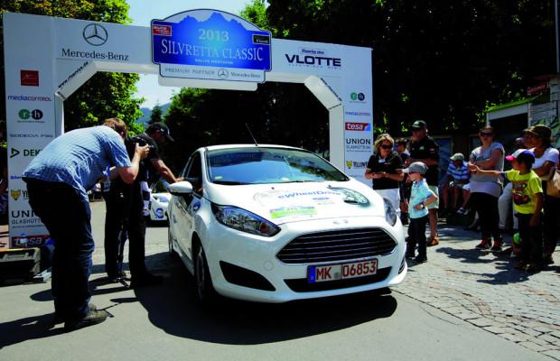 Schaeffler mit Ford Fiesta bei Silvretta-Rallye