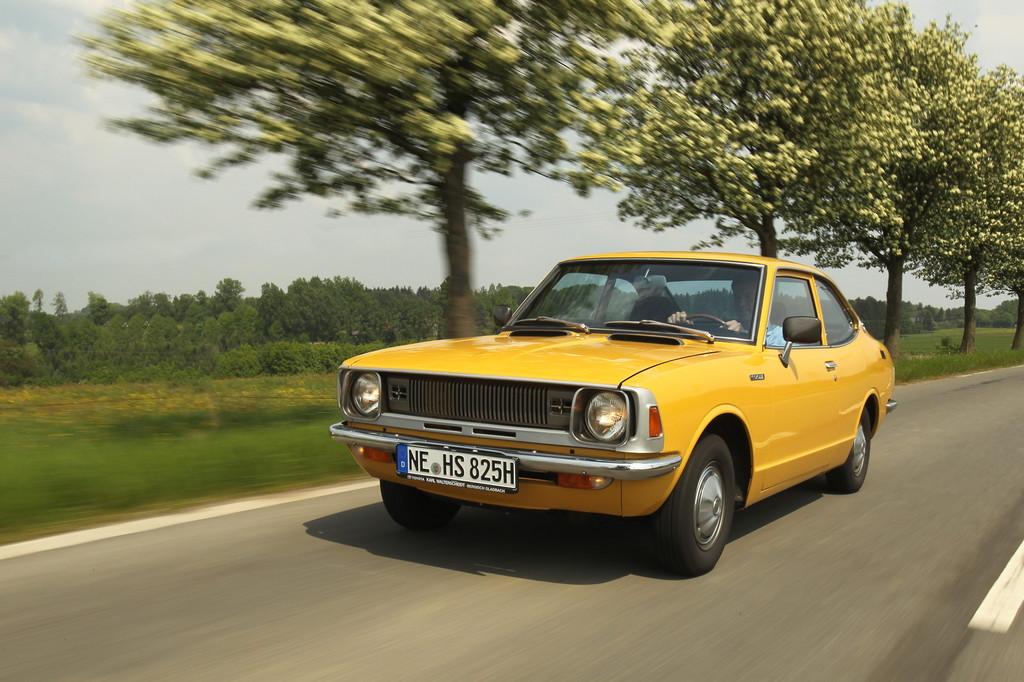 Schloss Dyck Classic Days: Toyota präsentiert die Auris-Ahnen