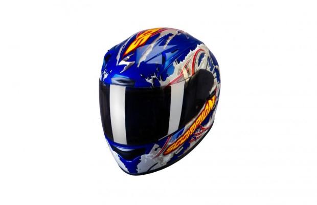 Scorpion mit neuem Motorradhelm für Supersportler