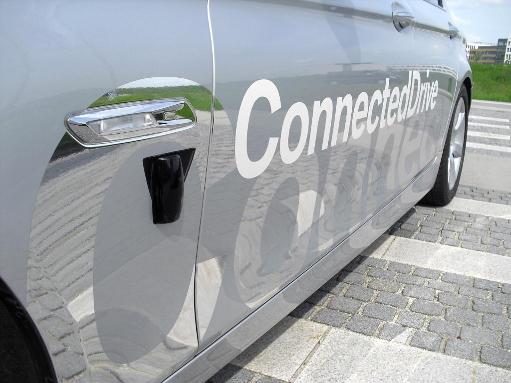 Sensortechnik sorgt für 360-Grad-Rundumerfassung.