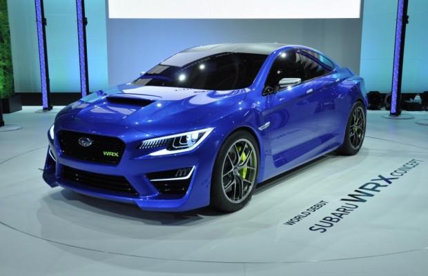 Subaru WRX Concept auf der IAA - Leichter auf die Piste