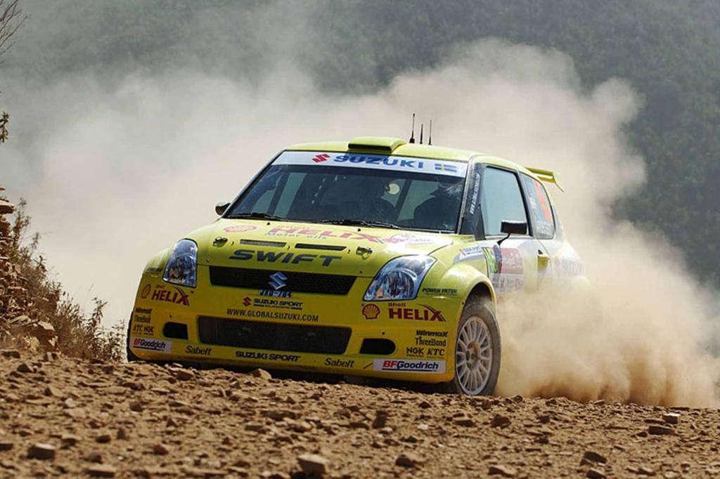 Suzuki Swift Super 1600 Rallye mit Per Gunnar Andersson 2009