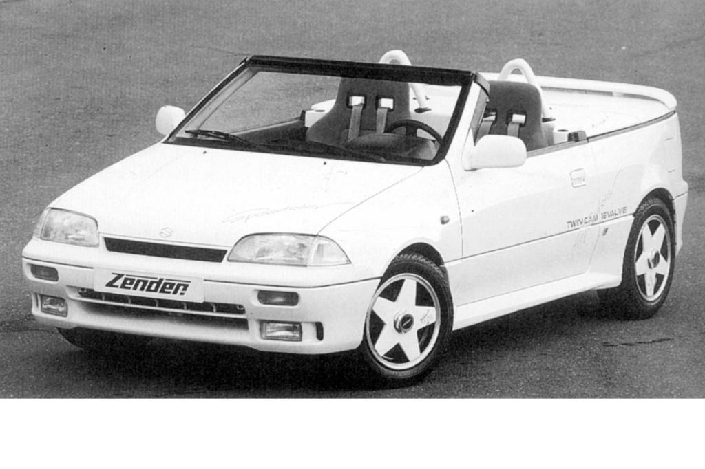 Suzuki  Zender Swift GTi Speedster ab 1990