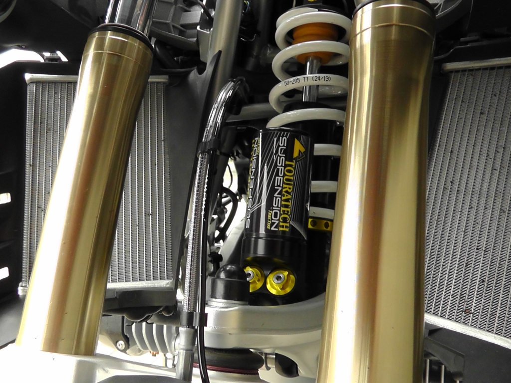 Touratech Suspension: Neues Extrem-Fahrwerk für BMW R 1200 GS