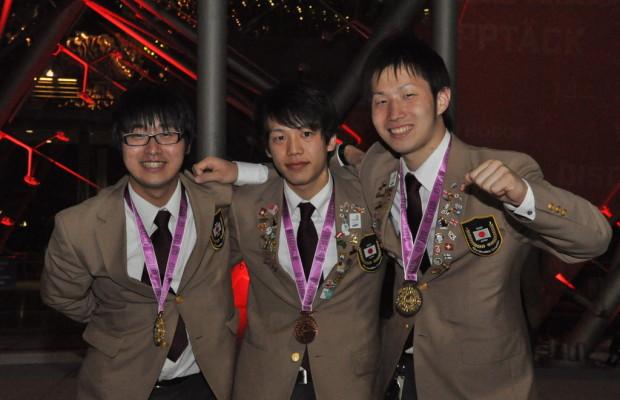 Toyota Mitarbeiter erfolgreich bei Berufsolympiade