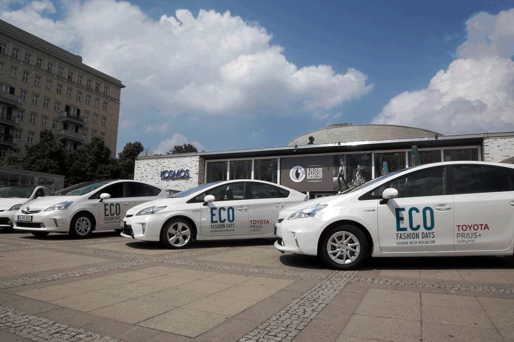 Toyota shuttelt die Eco Fashion Days