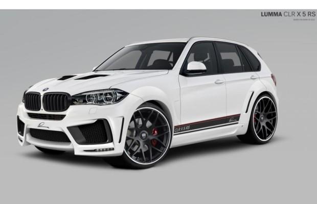 Tuning für den neuen BMW X5 - Vorgedrängelt