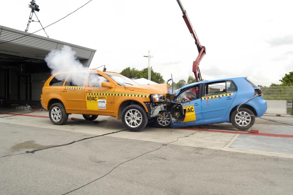 USA: SUV bei Unfällen sicherer als Pkw
