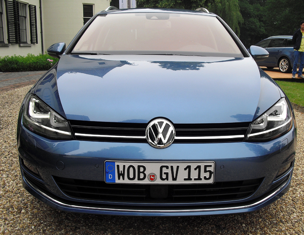 VW Golf Variant: Blick auf die Frontpartie.
