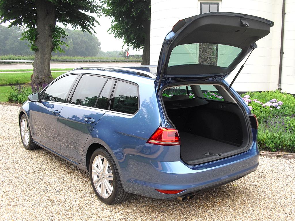 VW Golf Variant: Das Gepäckabteil fasst 605 bis 1620 Liter.