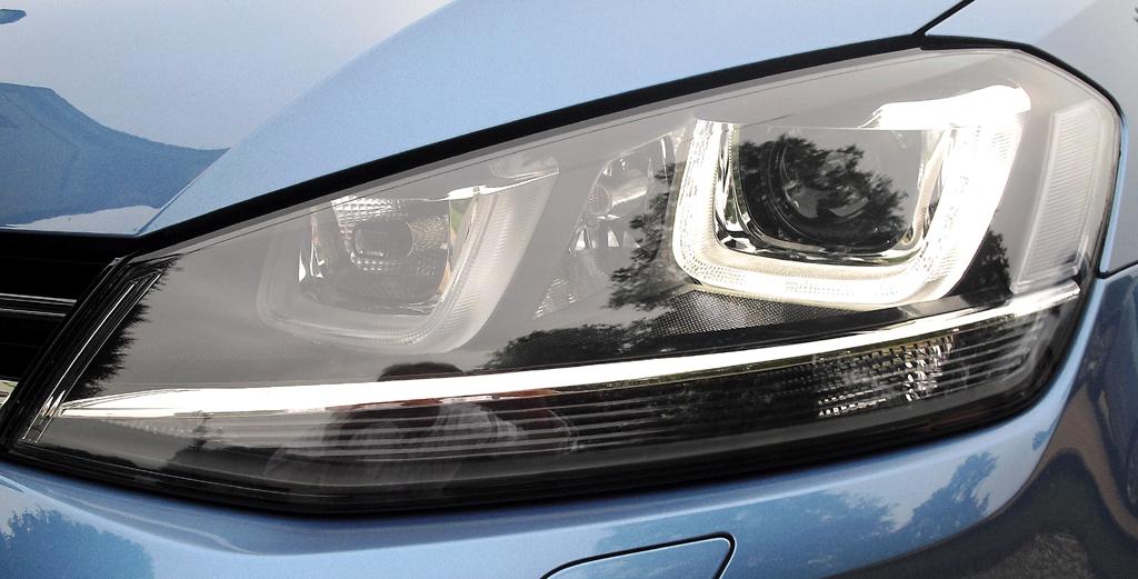 VW Golf Variant: Moderne Leuchteinheit vorn.
