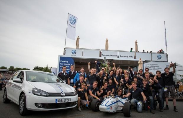 Volkswagen unterstützt fünf Hochschul-Teams bei Formula Student Germany