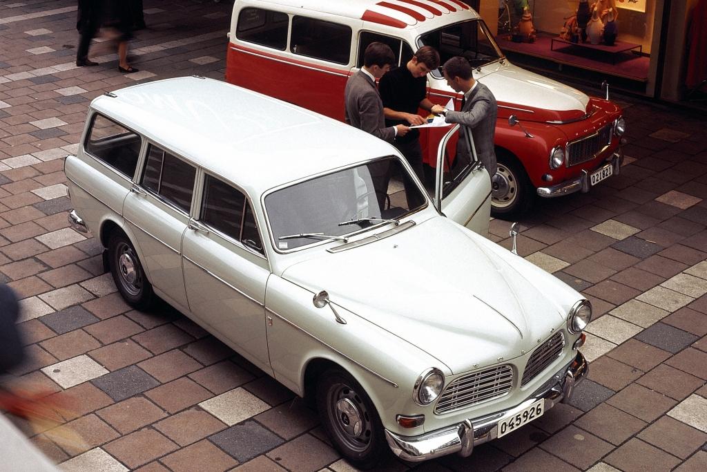 Volvo Duett P210 Jahr 1968 Generationentreffen