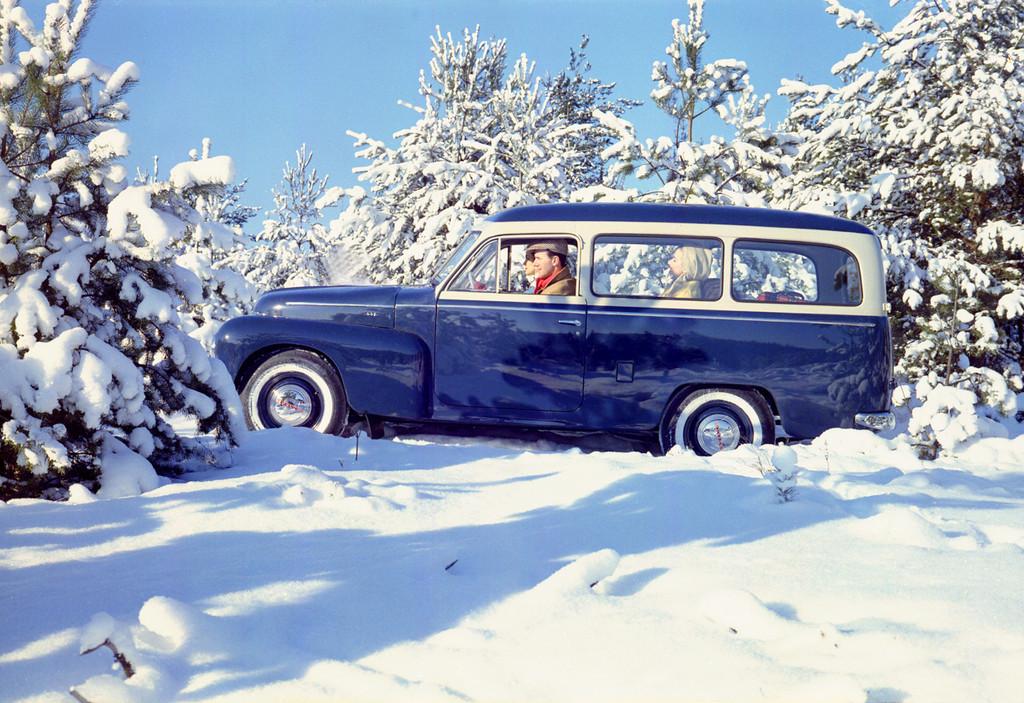 Volvo Duett begründet schwedische Kombigeschichte
