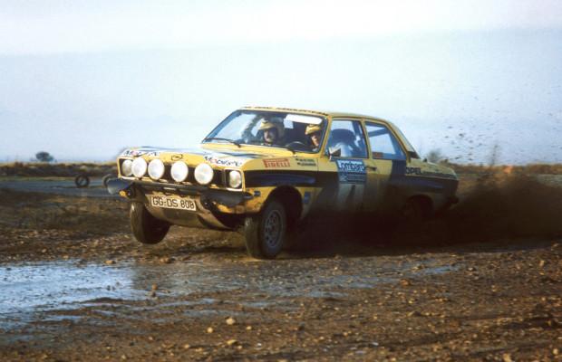 Walter Röhrl im Opel Ascona 400 beim ADAC Eifel Rallye Festival
